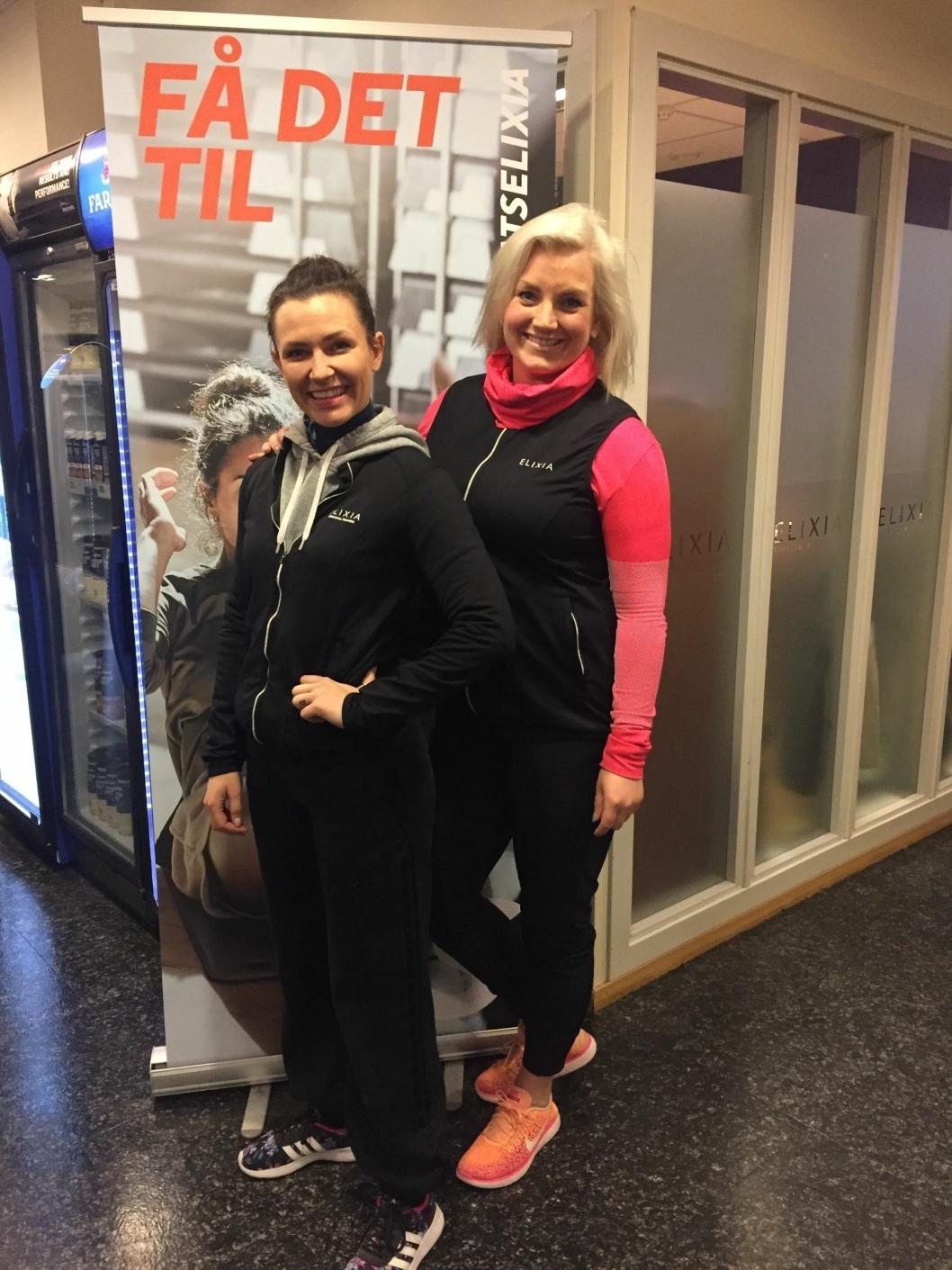 FÅ DET TIL: Det er den viktige beskjeden fra PT Elena og senterleder Christine