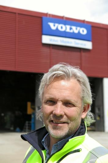 OFFENSIV: - Utsiktene er avgjort lovende, sier Volvo-sjefen.