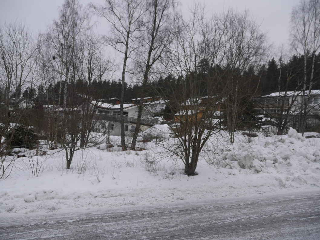 SKAL SELGES: Denne tomten i Klaus Egges vei 34 på Ingieråsen skal selges.