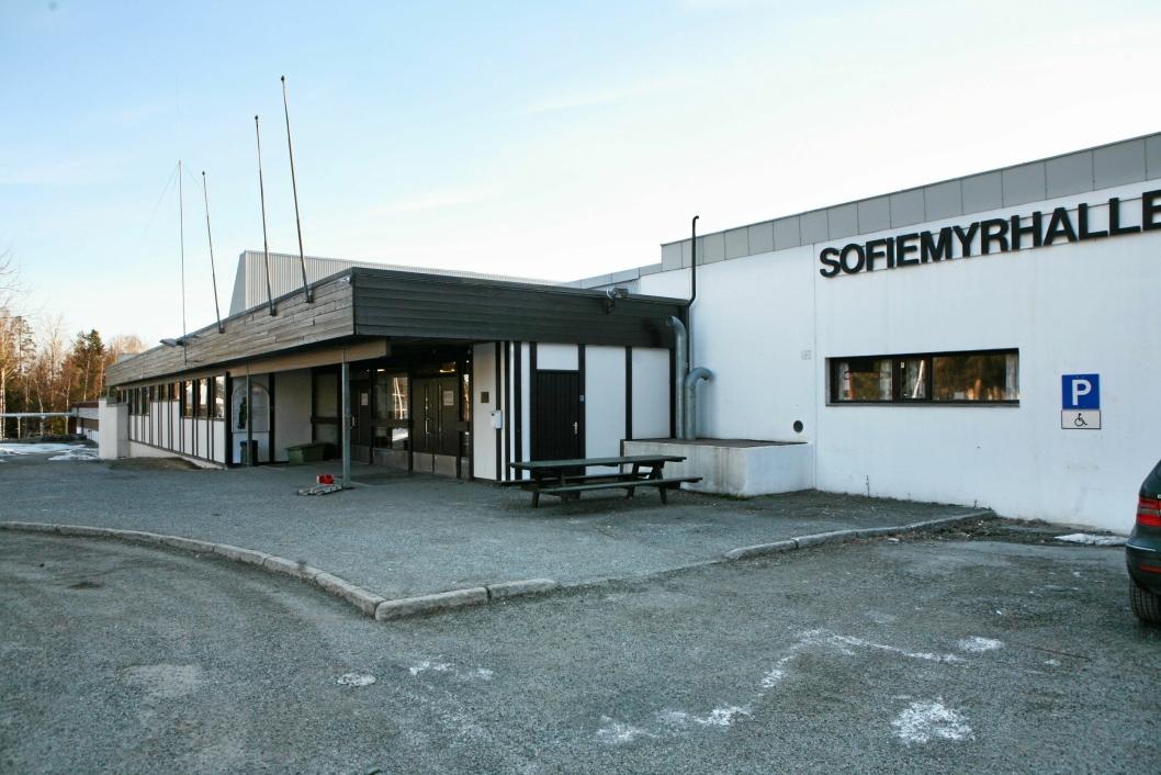 TIL SALGS: Sofiemyrhallen skal selges.