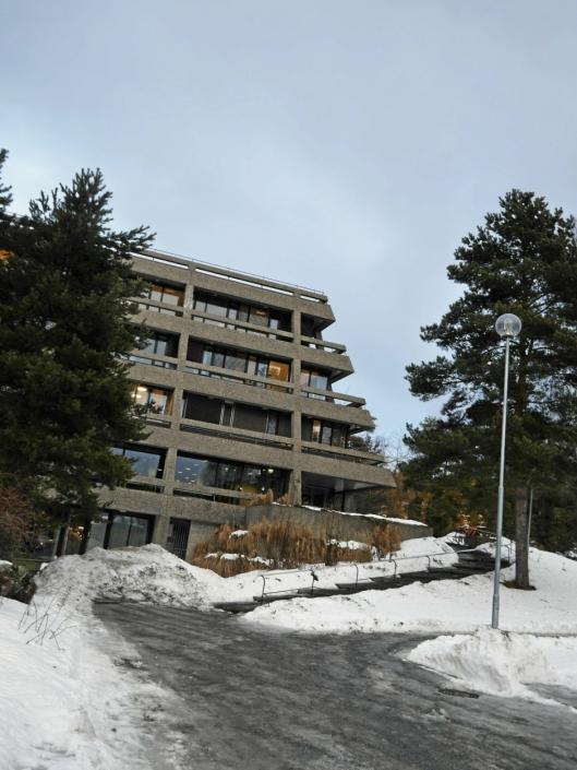 TIL SALGS: Oppegård rådhus er en av de kommunale eiendommene og tomtene som kommunestyret ønsker å kvitte seg med. Det liker ikke innsender av dette innlegget.
