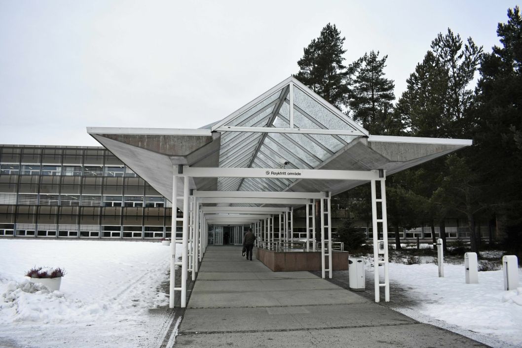 EGET SAMFUNN: Rosenholm Campus oppgraderes innvending, og skal gjøre det enda mer attraktivt å jobbe her.