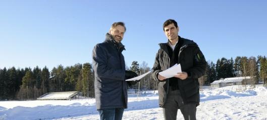 Byggestart på den nye hallen og storskolen på Sofiemyr blir trolig i 2019