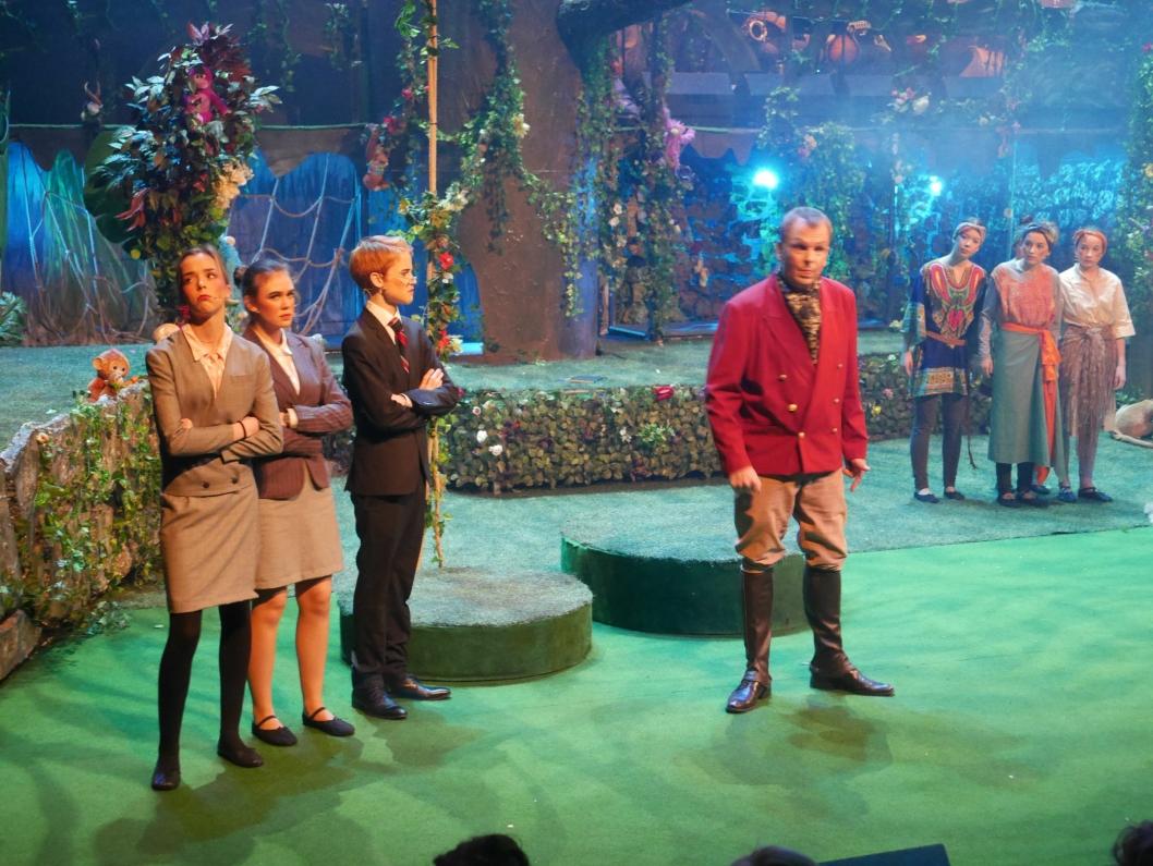 KNALLSUKSESS: OPALs Tarzan ble en publikumssuksess. Over 2300 løste billetter.