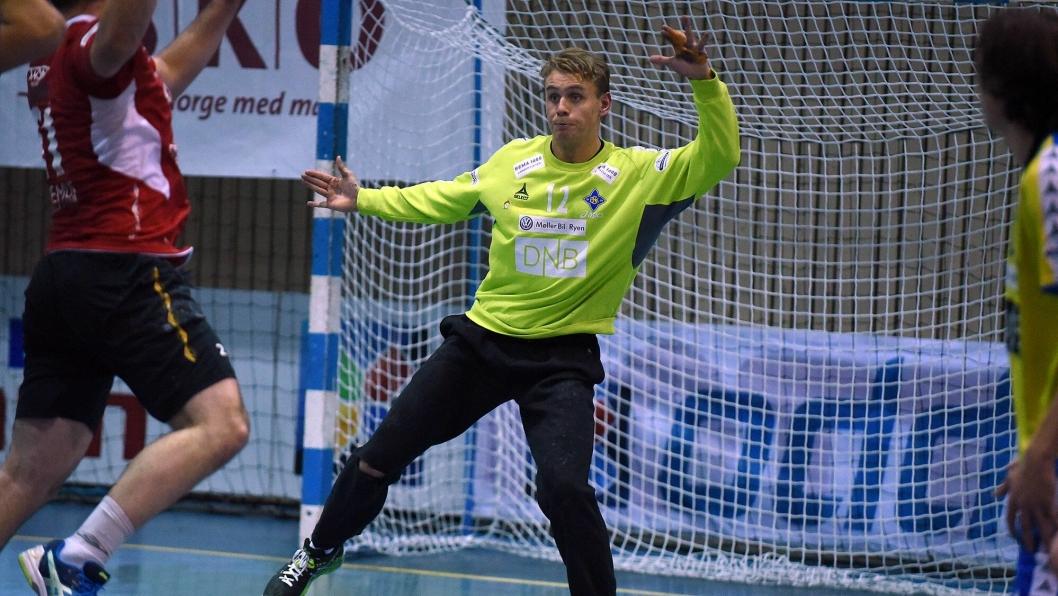 REAKSJONSTERK: Tidligere Kolbotn IL- og Bækkelaget SK-spiller Kristian Sæverås blir Aalborg-spiller til sommeren. Aalborg er meget fornøyd med kjøpet