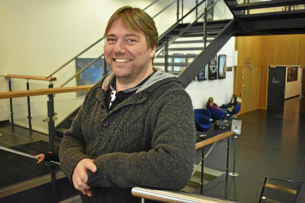 GIR SEG IKKE: Christian Lund sier det blir nok KAOS til neste år også.