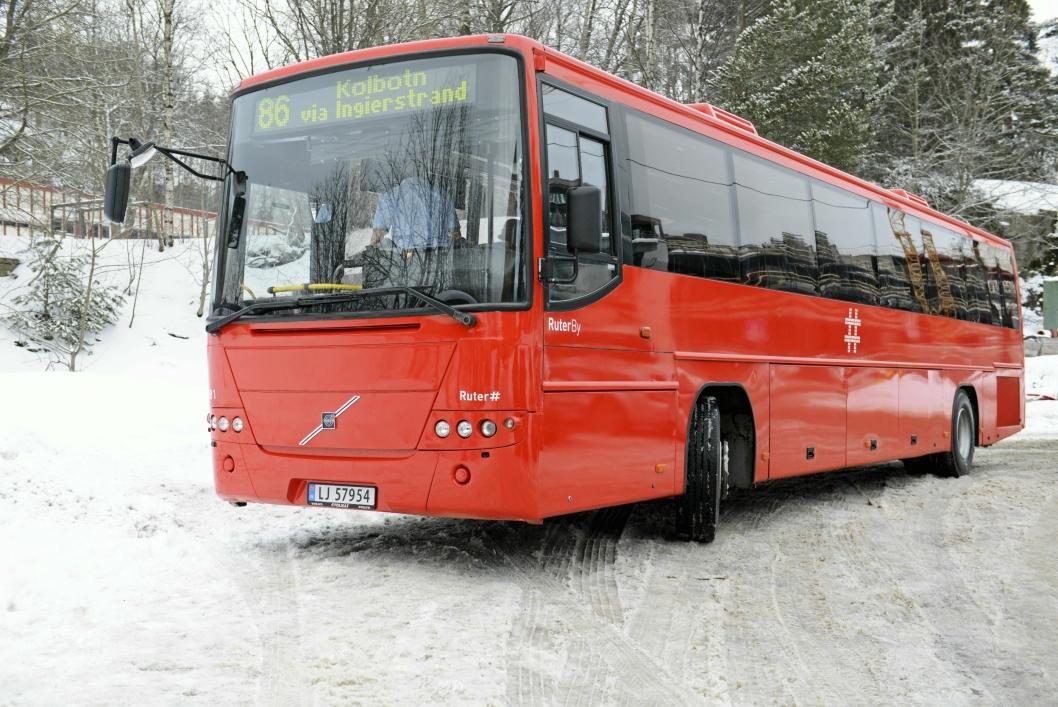 """VI BUSSER SOM ALDRI FØR: Bussen er den store """"vinneren"""" i kollektivmarkedet i Oslo og Akershus. Det er bussene som kjører flest kollektivreisende hos Ruter."""