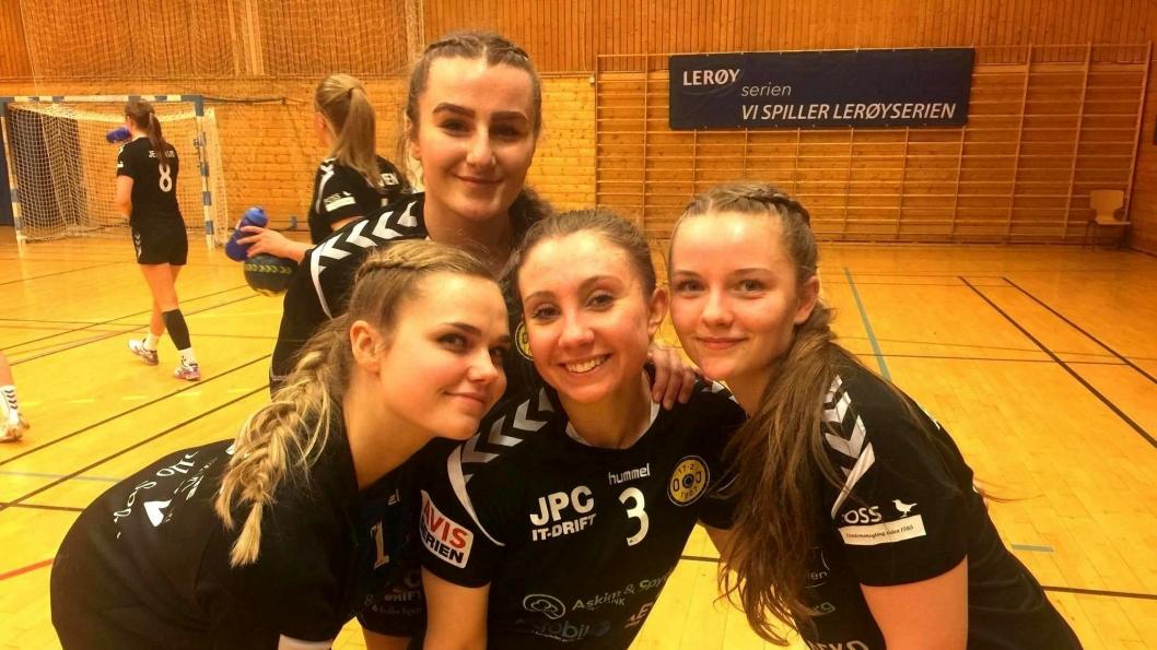 KJEMPET HARDT: Oppegård-jentene kjlempet hardt for poengene på Lørenskog i Lerøyserien i helgen