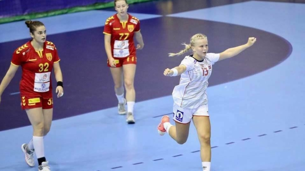 TALENT: Anna Huse er tilbake på landslaget etter et skadeopphold