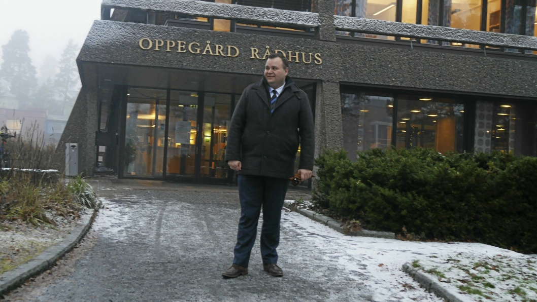 I GANG: Ordfører Thomas Sjøvold forteller at han gleder seg til sammenslåingen.