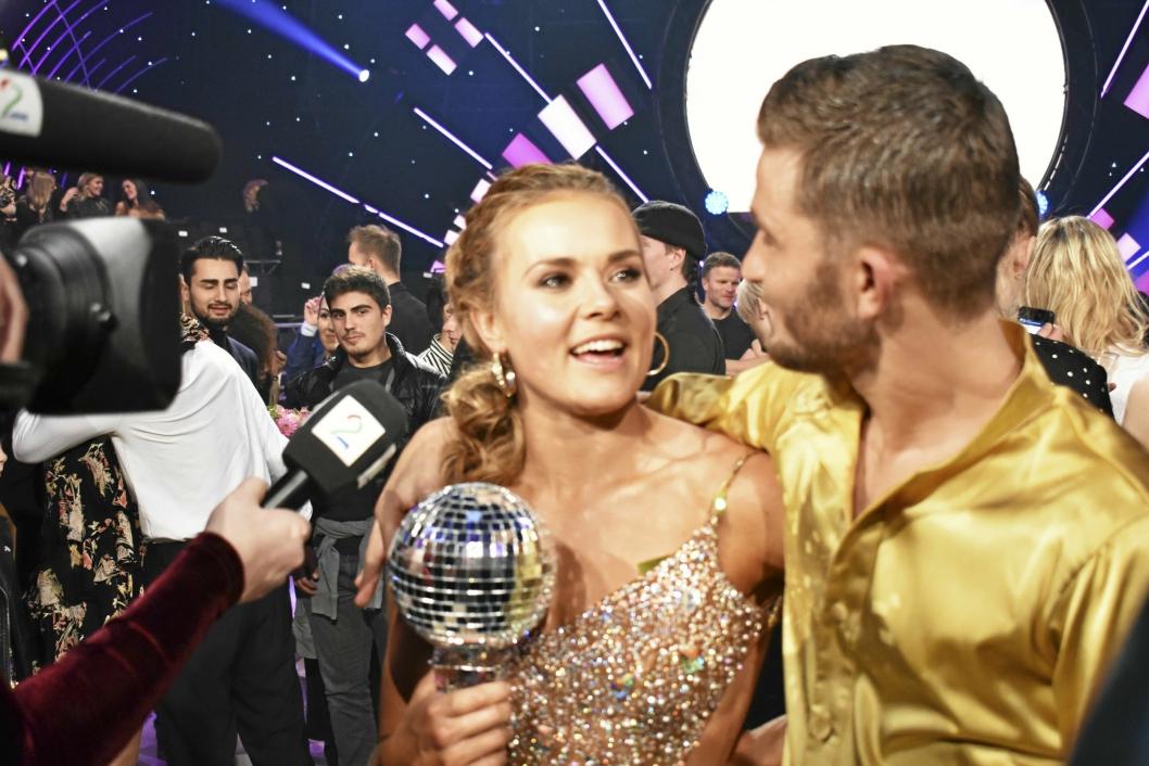 VANT: Helene Olafsen sjarmerte TV-seerne i senk og danset seg til seier i Skal Vi Danse.