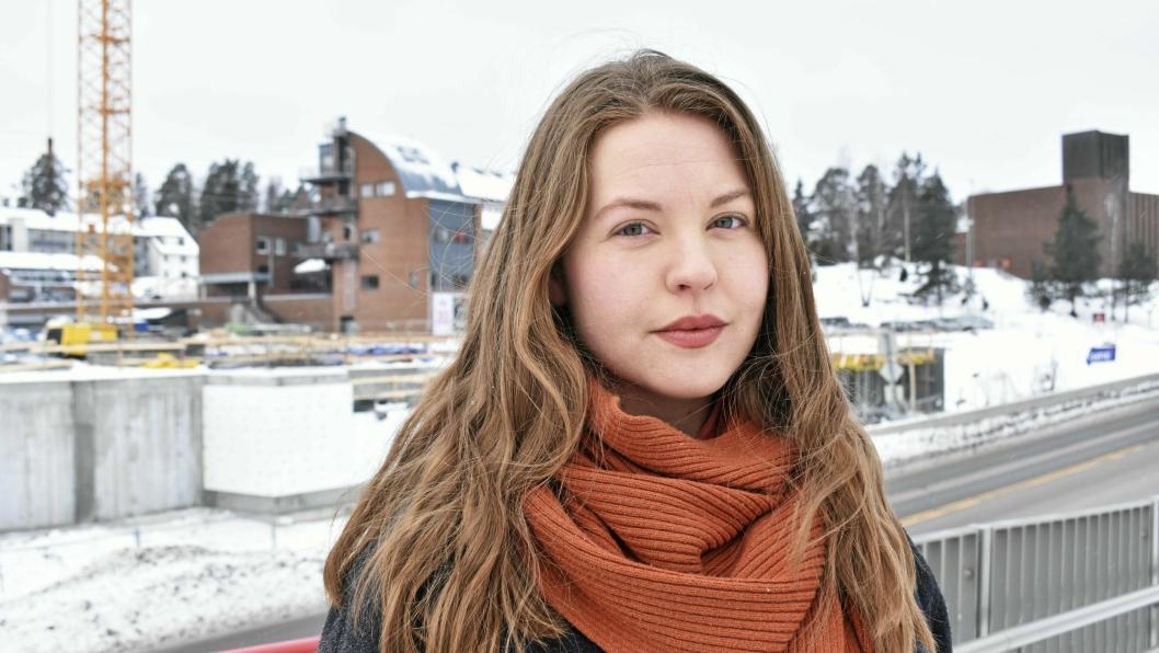 LIKESTILLINGSANSVARLIG: Synnøve Kronen Snyen er gruppeleder i Oppegård SV, og likestillingsansvarlig i Studentparlamentet ved UiO.
