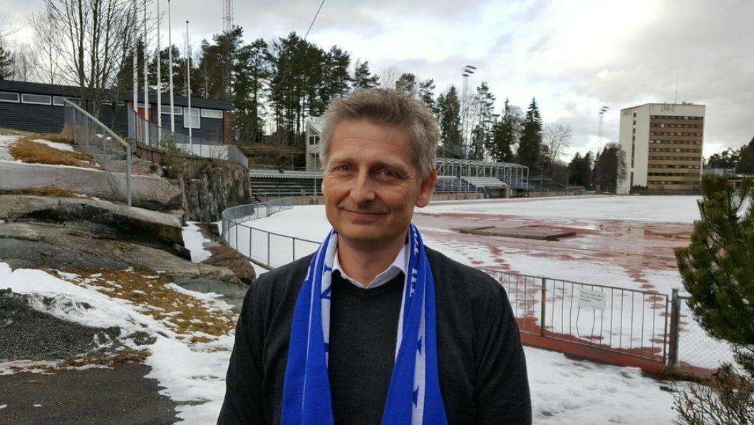 HÅPER: Daglig leder i Kolbotn Kvinnefotball, Einar Engedahl, håper på en klar bane til seriestart.