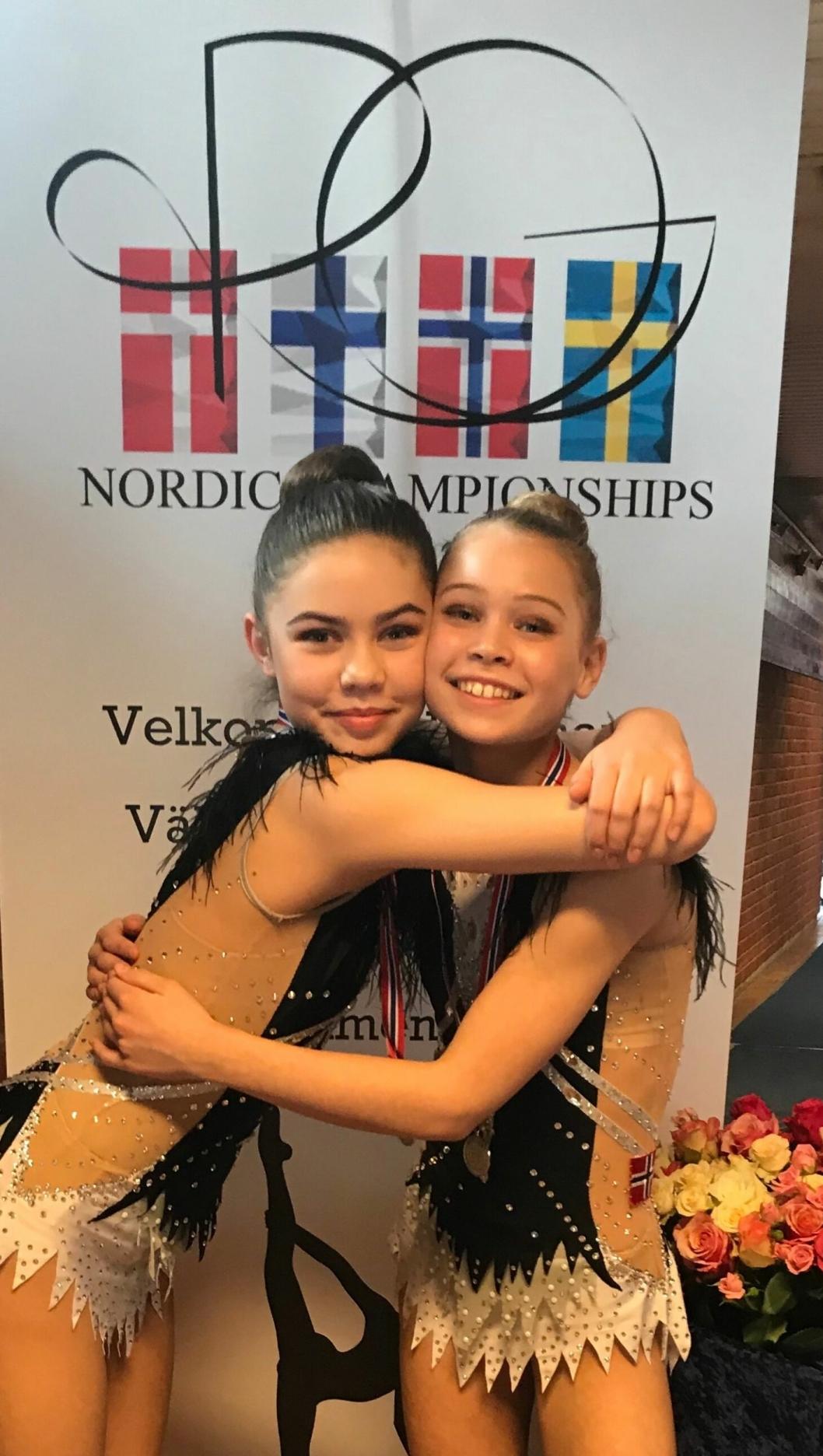 FLOTTE REPRESENTANTER: Ingrid Aasprong Berntsen og Katrine Rambech.