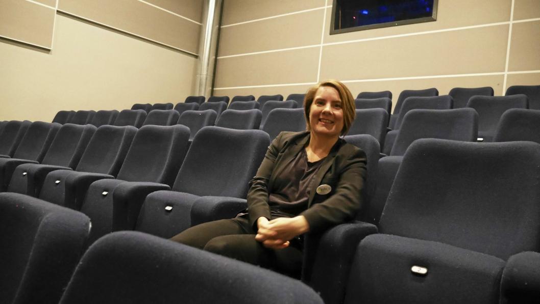 SPENT: Kinosjef Lena Sunnby er spent på mottagelsen av filmen om 22. juli.