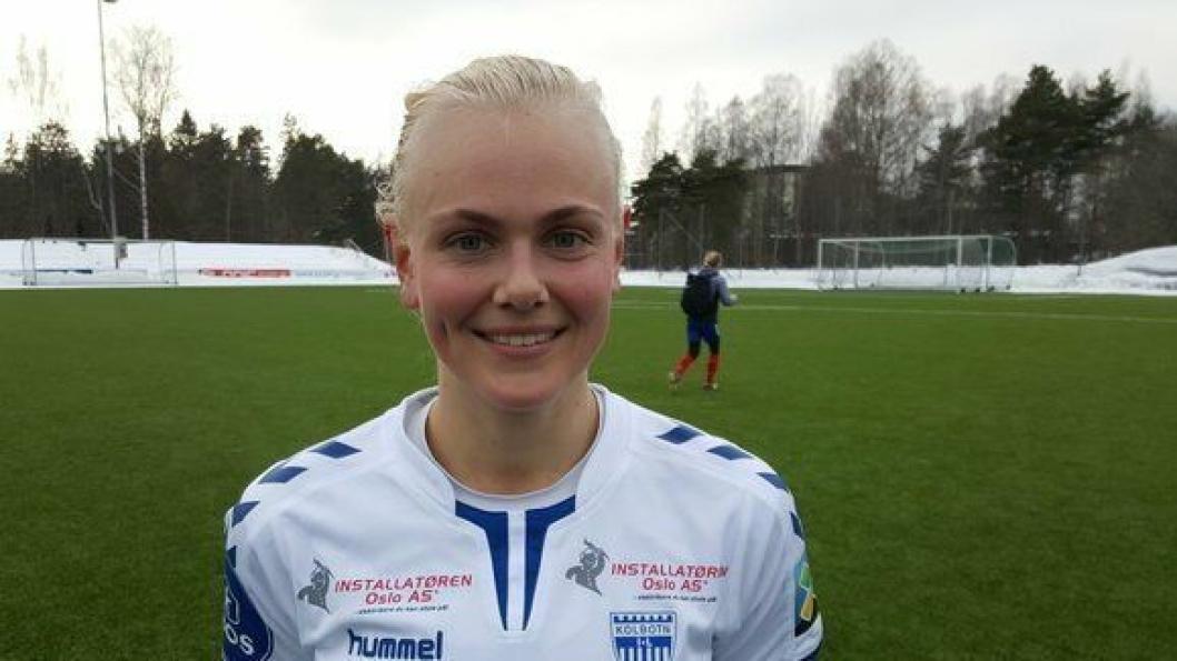 I STORFORMN: Karina Sævik var en viktig brikke i kampen mot Lyn.