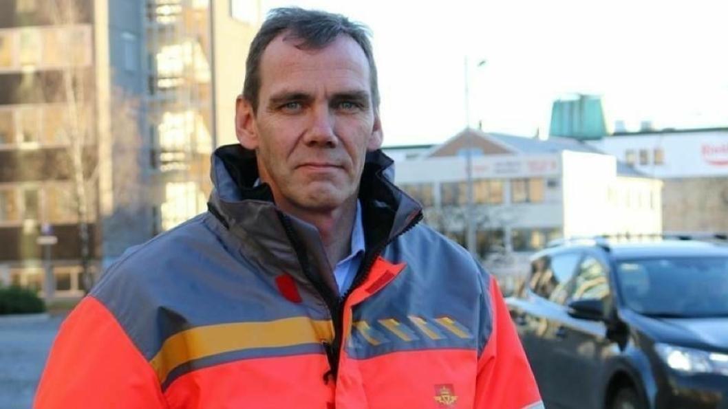 BER FOLK TA DET MED RO: Avdelingsdirektør Nils Karbø i Statens vegvesen, Vegavdeling  Akershus.