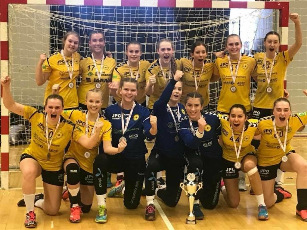 HADDE DET DEILIG I DANMARK: Oppegårds J16 fikk andreplass i sin pulje i danske Rødspætte Cup.