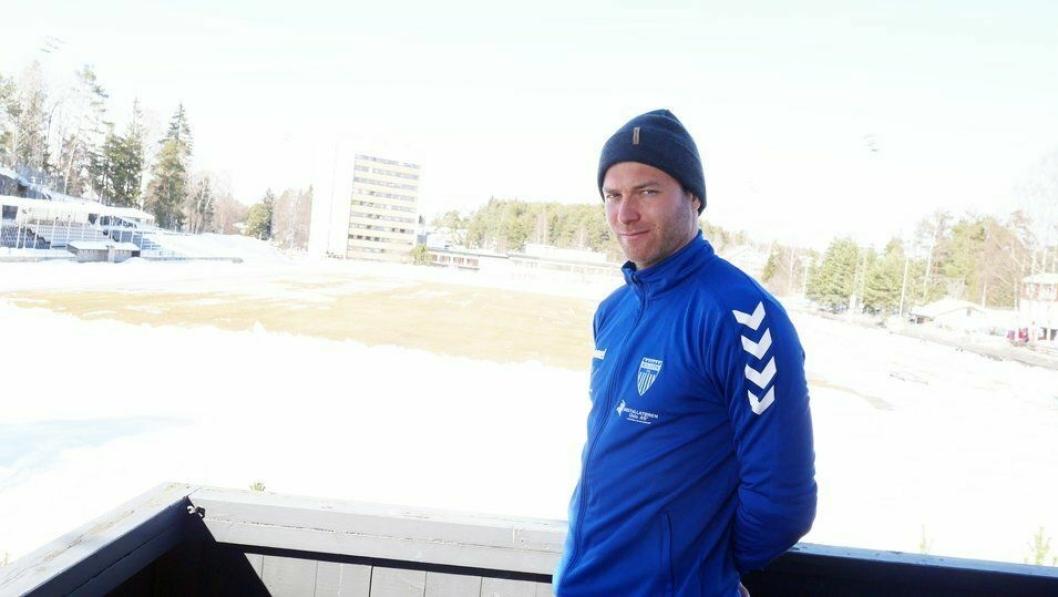 KLAR FOR Å BEVISE: Kolbotns hovedtrener, Knut Slatleim, har tro på toppseriejentene i år.