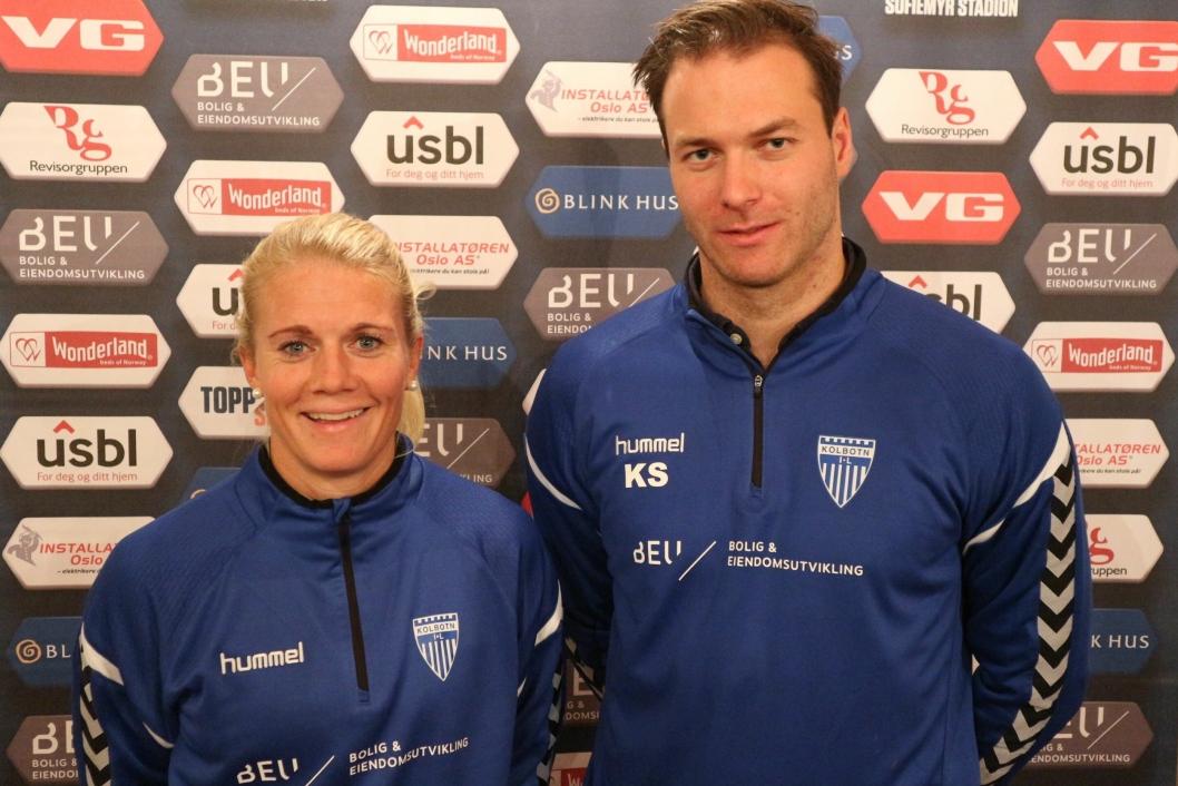 PÅ SAMME LAG: Knut Slatleim har blant annet hjelp av Solveig Gulbrandsen i støtteapparatet.