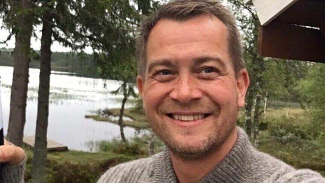 GLADLAKS: Anders Nordheim Dahl gleder seg over å fylle 40, og synes livet blir bedre med alderen.