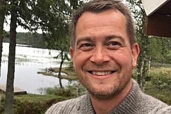 Lokalavisredaktør fyller 40 - hevder han ikke får krise