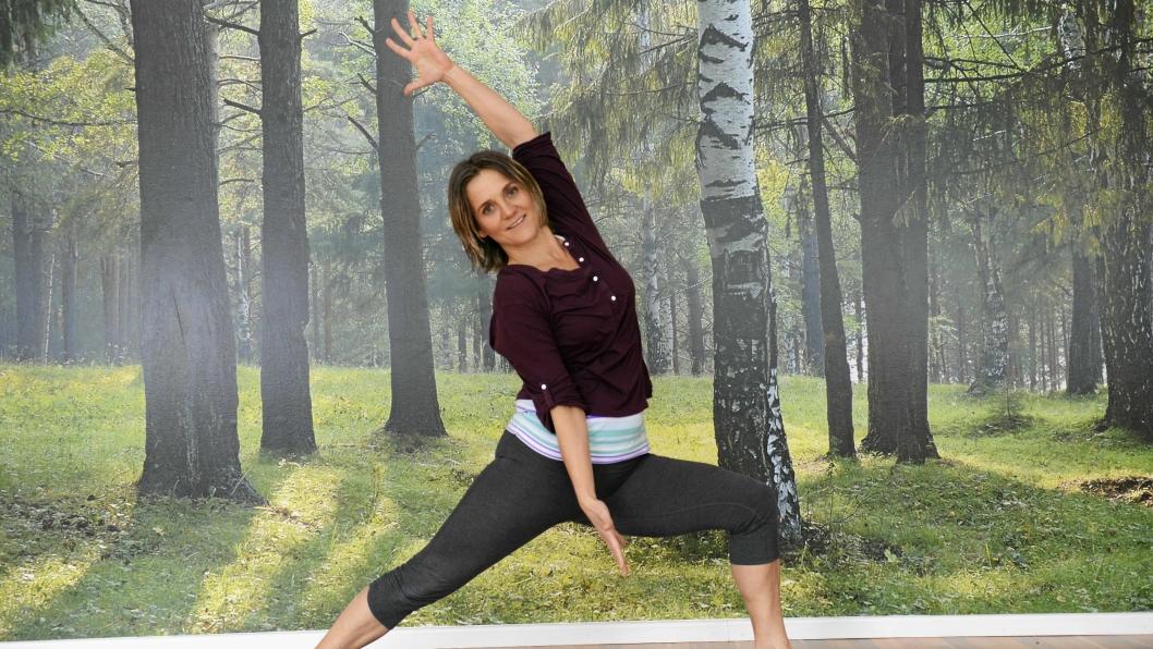 BEVEGELIGHET: Yoga er godt for både kropp og sjel, og kan hjelpe deg med å bli mer bevegelig i hverdagen.