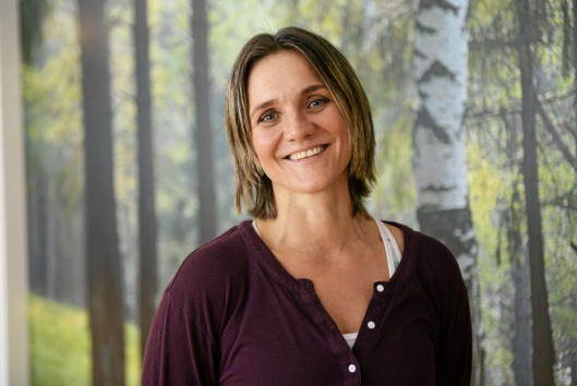 GRØNN MORGEN: Carina Jensen, eier og instruktør på iYoga, inviterer til grønn morgen.