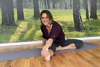 Yoga du kan gjøre hjemme