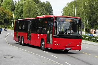Alle busser til og fra Oppegård kan rammes av streik.