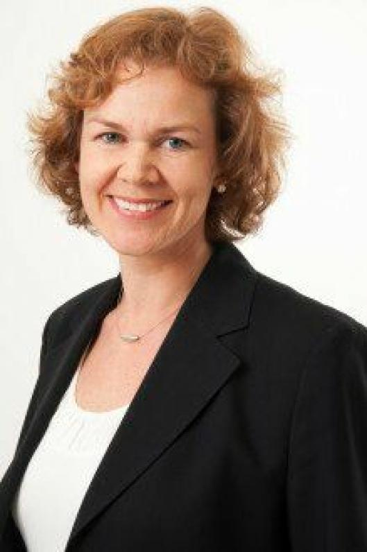 SPENT: Pressevakt i Ruter, Sofie Bruun, er spent på utfallet av meklingen.