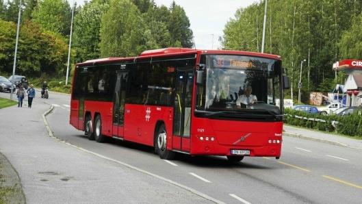 SOM FØR: Rutene til og fra Oppegård vil bli befordret av bussene du kjenner og er vant til, men altså ingen elektriske.
