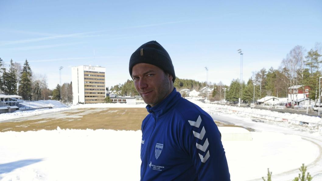 KLAR FOR KAMP: Kolbotn-trener Knut Slatleim har tro på seier mot Lyn, som blir årets første motstander i toppserien for Kolbotn.