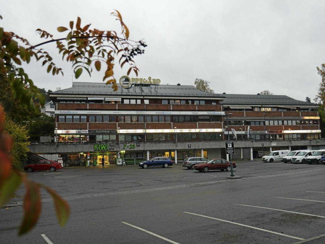 HER SKAL DET SKJE: Showet blir utenfor Oppegård senter på Oppegård stasjon.
