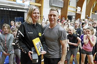 Espen Jansen var trener for en kveld