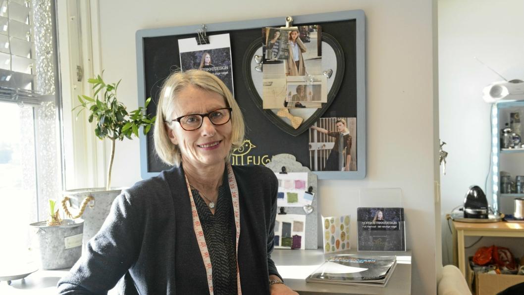 ENDRER: Elisabeth Gullner har bestemt seg for å gå nye veier med konseptet sitt.