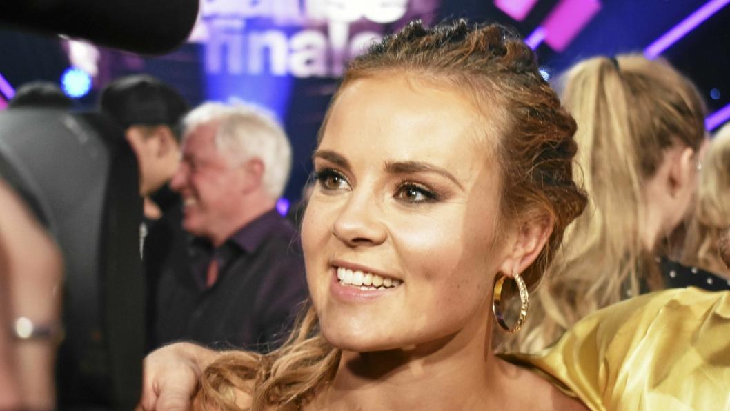FAVORITT: Helene Olafsen er favoritt på flere plan, og vant Skal Vi Danse 2017. Bildet er fra finalen i Nydalen i Oslo.