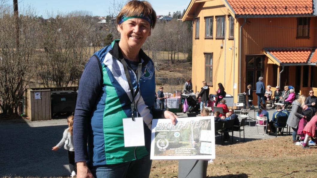 FEMTIENDE SESONG: Anne Marit Færden leder Skautraver'n som har over 1500 deltagere hvert år
