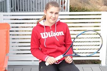 Fremtidig tennisstjerne