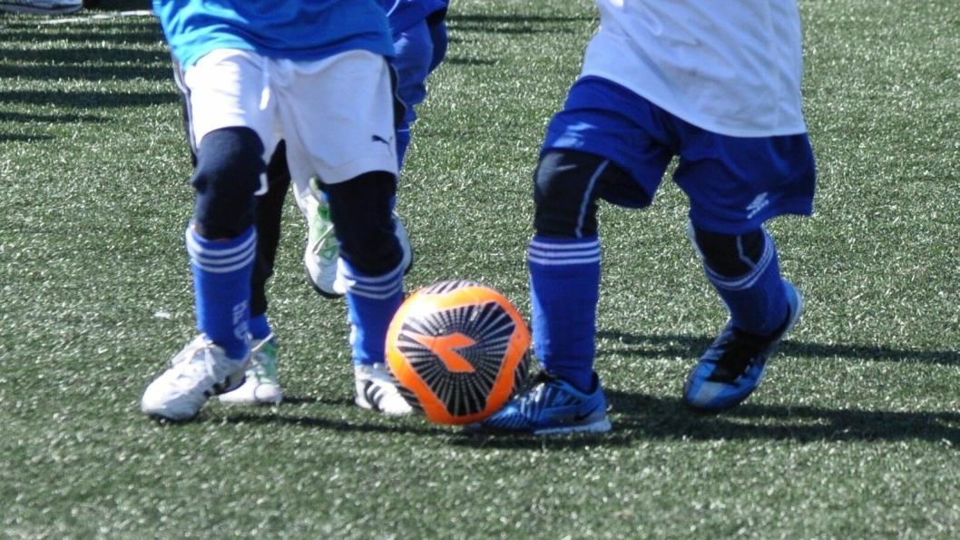 MORO MED BALL: Dribleskolen setter fokus på ballmestring gjennom variert lek med ball.