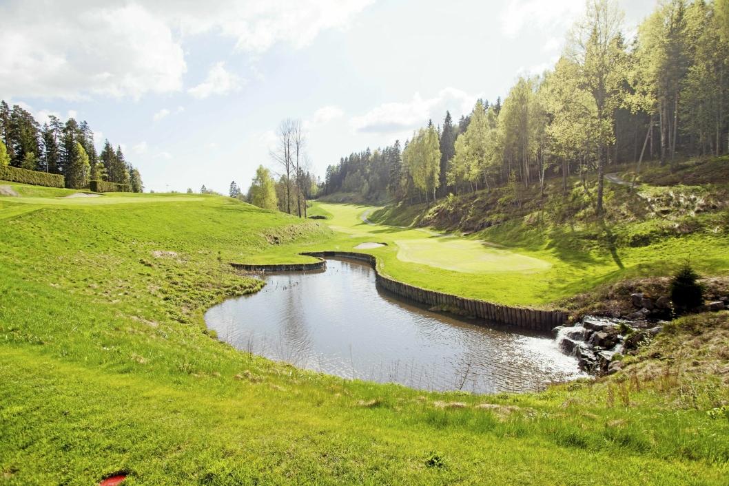 Oppegård golfklubb på Østre greverud. Daglig leder Frode Valle.