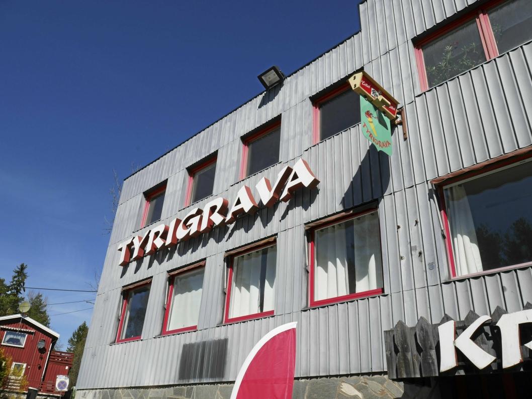 TYRIGRAVA: Ved Gamle Mossevei på Svartskog.