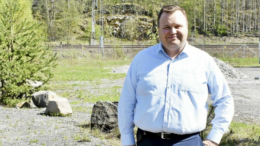 ORDFØRERKANDIDAT: Thomas Sjøvold kan bli Nordre Follos ordfører.