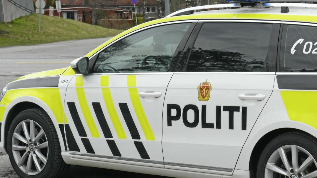 LOKAL KJENNING: Politiet kjente til gjerningsmannen fra før. Han knuste en rute, men stjal ingenting.