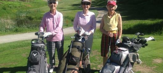 Se, der golfer bestemor!