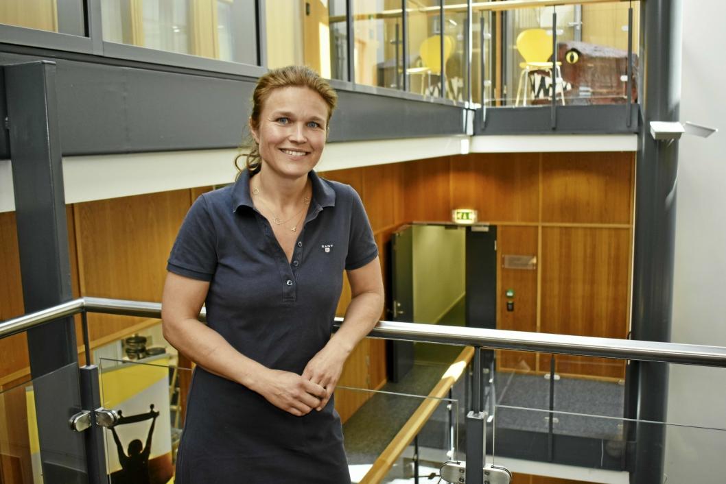 LEDER AV SENIORSENTRENE: Margrethe Lillebø Otterholt.