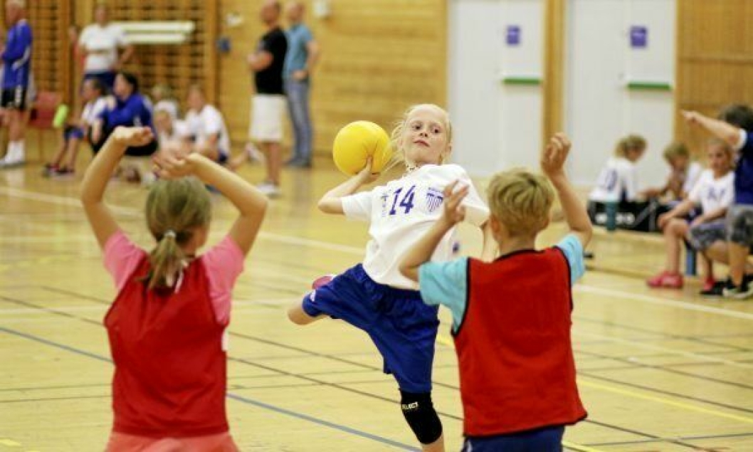 Kolbotn Håndball sommeravslutning 2018 i Sofiemyrhallen tirsdag 5. juni.