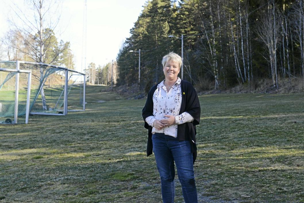 DAGLIG LEDER I OPPEGÅRD IDRETTSLAG: Hege Frøyna.