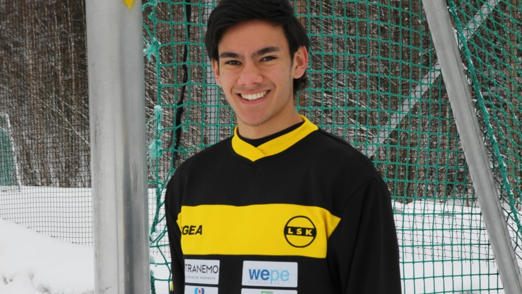 PROFF: Josef Baccay har skrevet proffkontrakt og skal være LSK-spiller de neste tre årene.