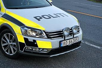 Trafikkulykke på Svartskog